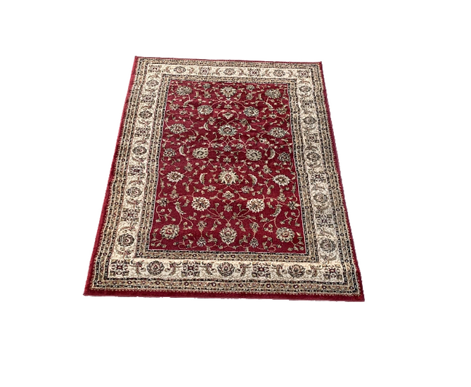 Red Moroccan Style Rug 2
