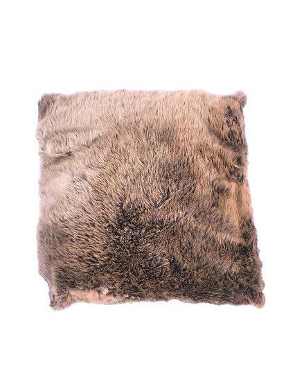 Fluffy Brown Cushion