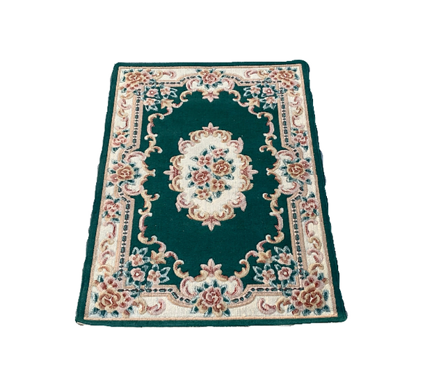Green Moroccan Style Rug 3