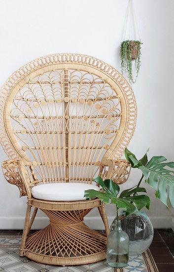 Natural Peacock Chair
