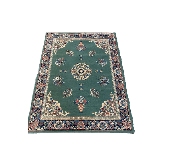 Green Moroccan Style Rug 2