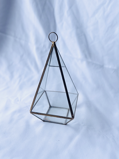 Triangle Prism Candle Holder