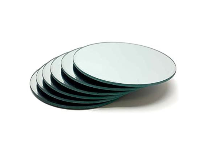 Mirror Center Piece Plate