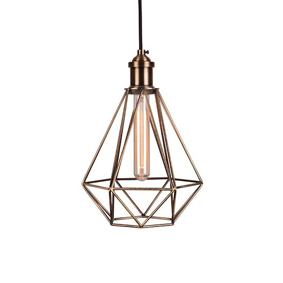 Gold Geometric Light Pendants