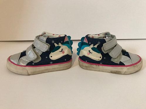 M&S Size 6 Unicorn Ankle Pumps