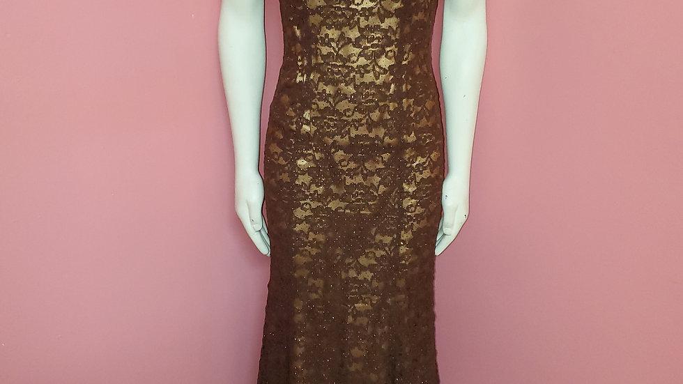 Brown Dress size 7/8