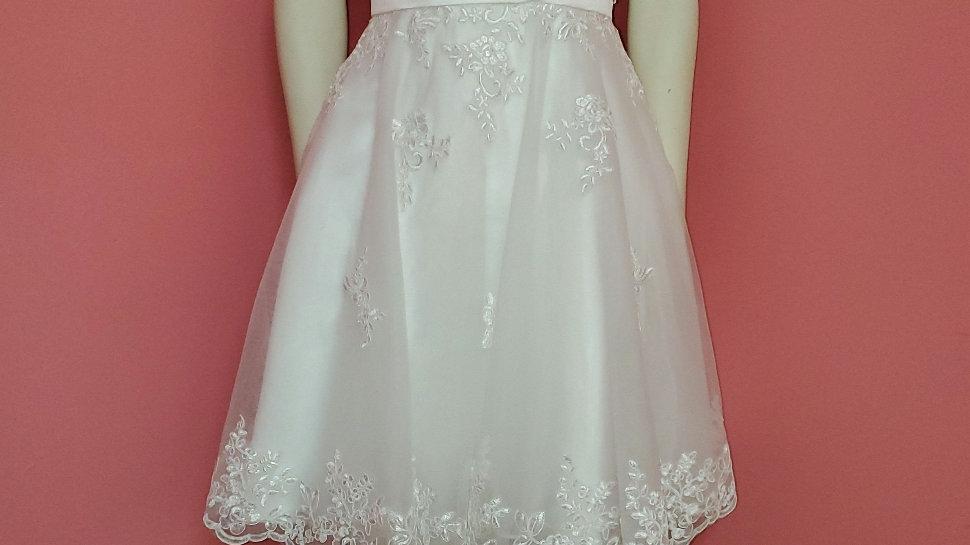 Short reception dress