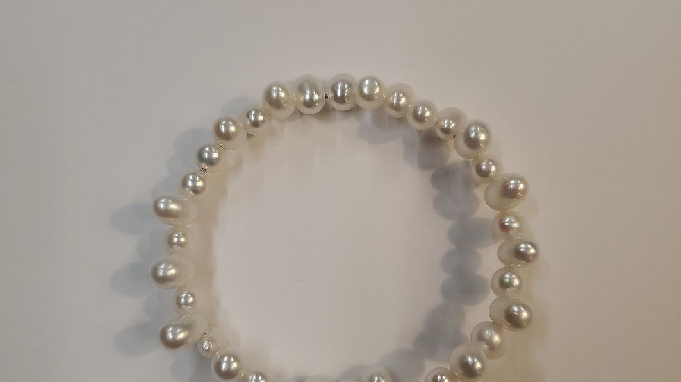 Pearl Cuff Bracelet