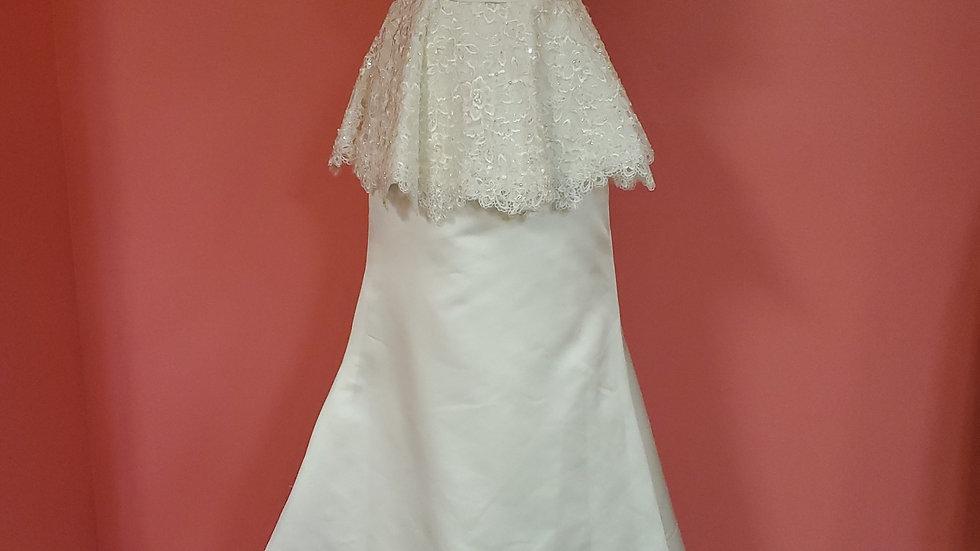 NWT Mary's Bridal size 6
