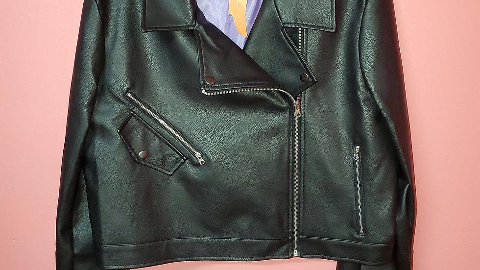Leather Jacket size 14