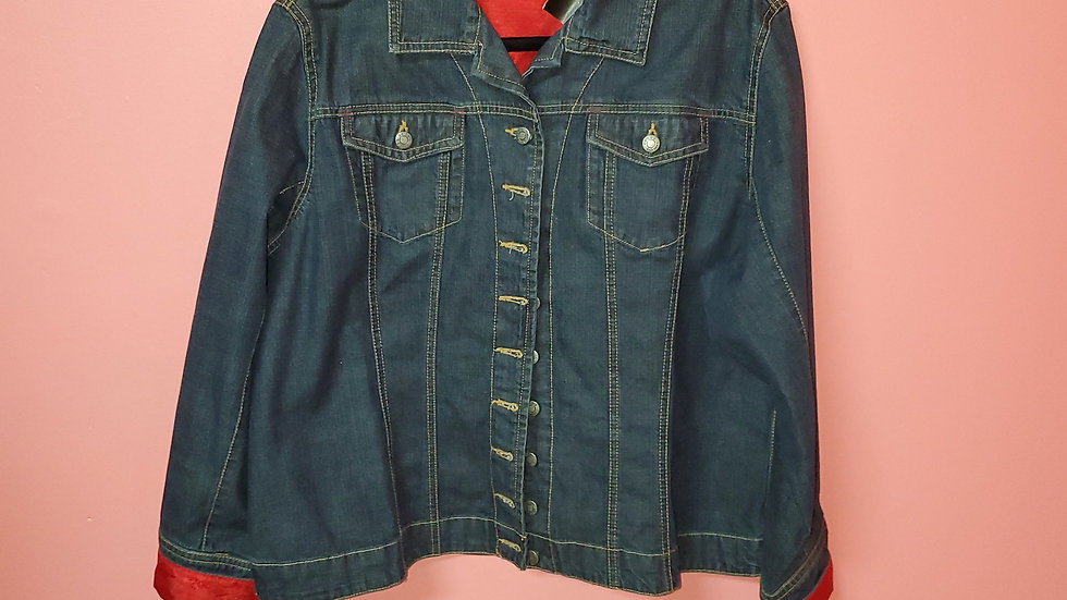 Chico's Jean Jacket size 3