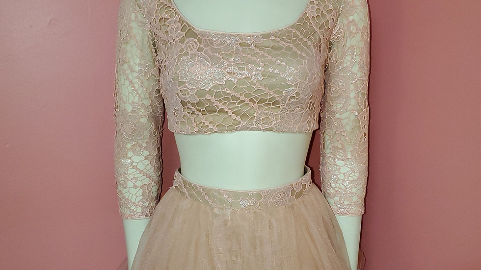 NWT Terani Couture Two Piece size 0