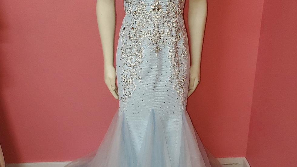 NWT Envious Mermaid Prom Dress size 16