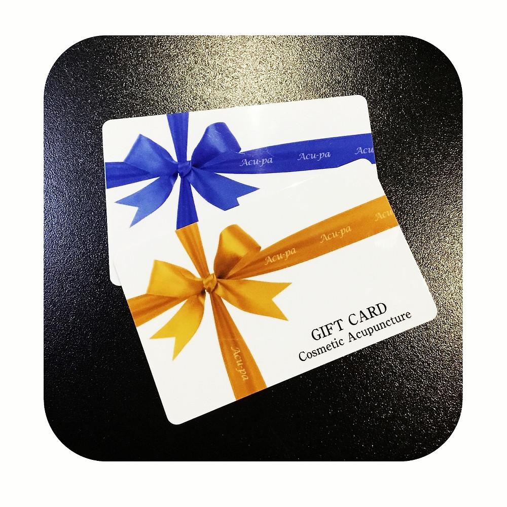 ギフトカードの画像