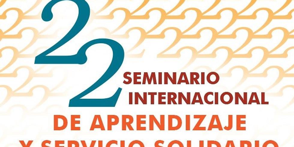 22 Seminário Internacional de Aprendizagem e Serviço Solidário