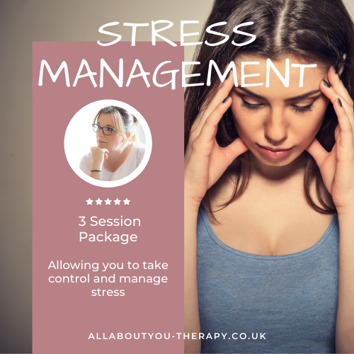 Stress Management Package - 3 sessions