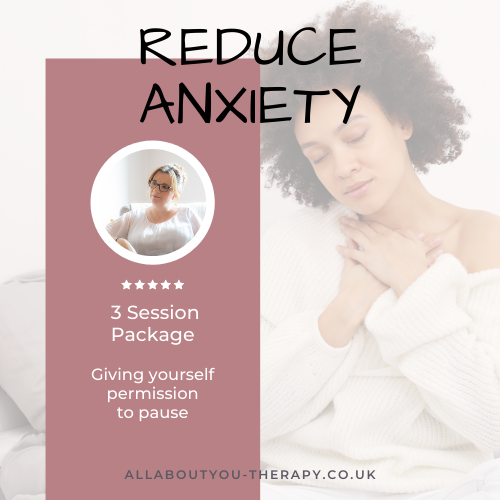 Reduce Anxiety Package - 3 sessions
