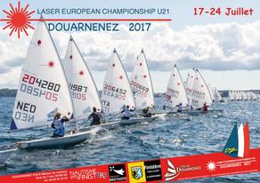 Affiche Laser European Championship 2017