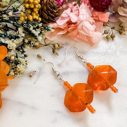 Orange Delight Earrings
