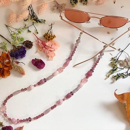 Czech Glass Eyeglass Chain