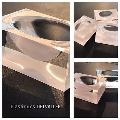 Plastiques Delvallee Bloc SURLYN forte e