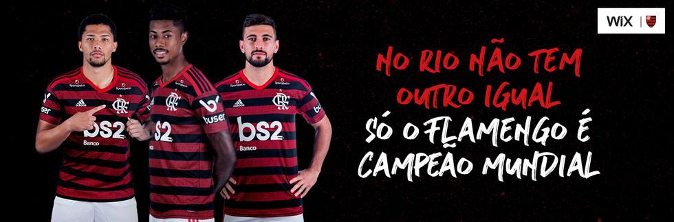 No Rio não tem outro igual, só o Flamengo é Campeão Mundial
