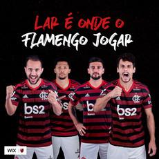 Lar é onde o Flamengo jogar