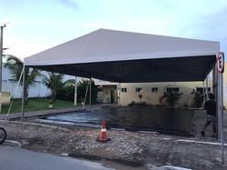 tenda hospital de campanha