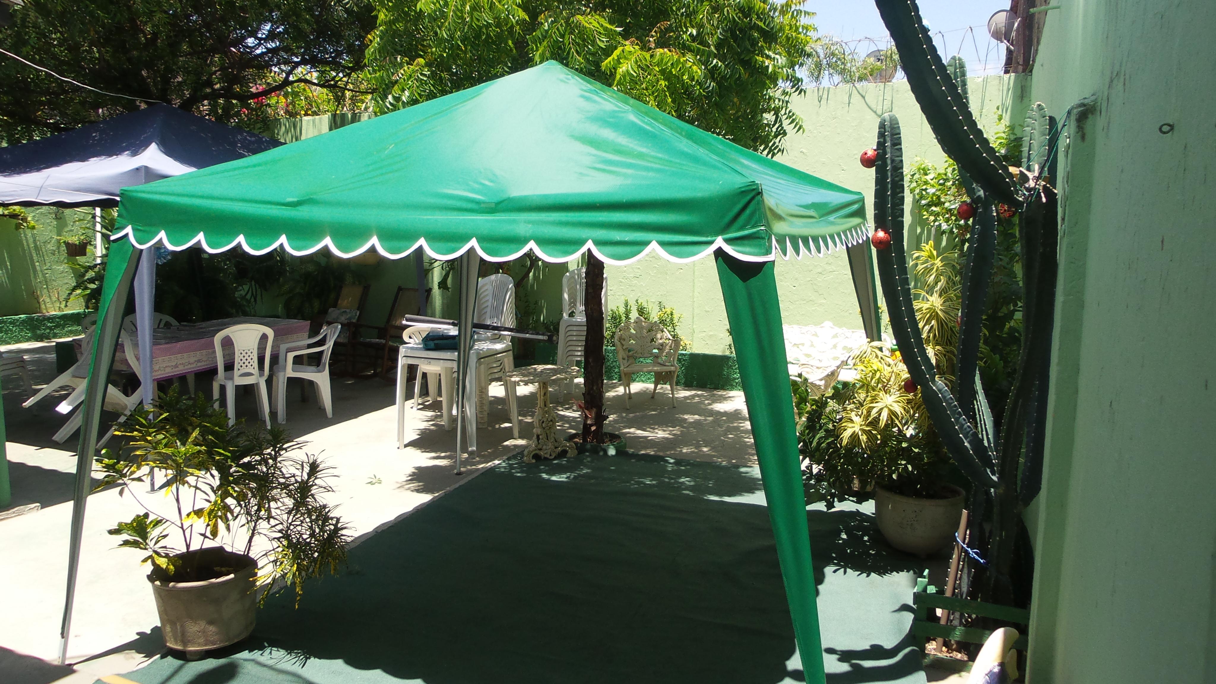 tenda 2x2 sanfonada