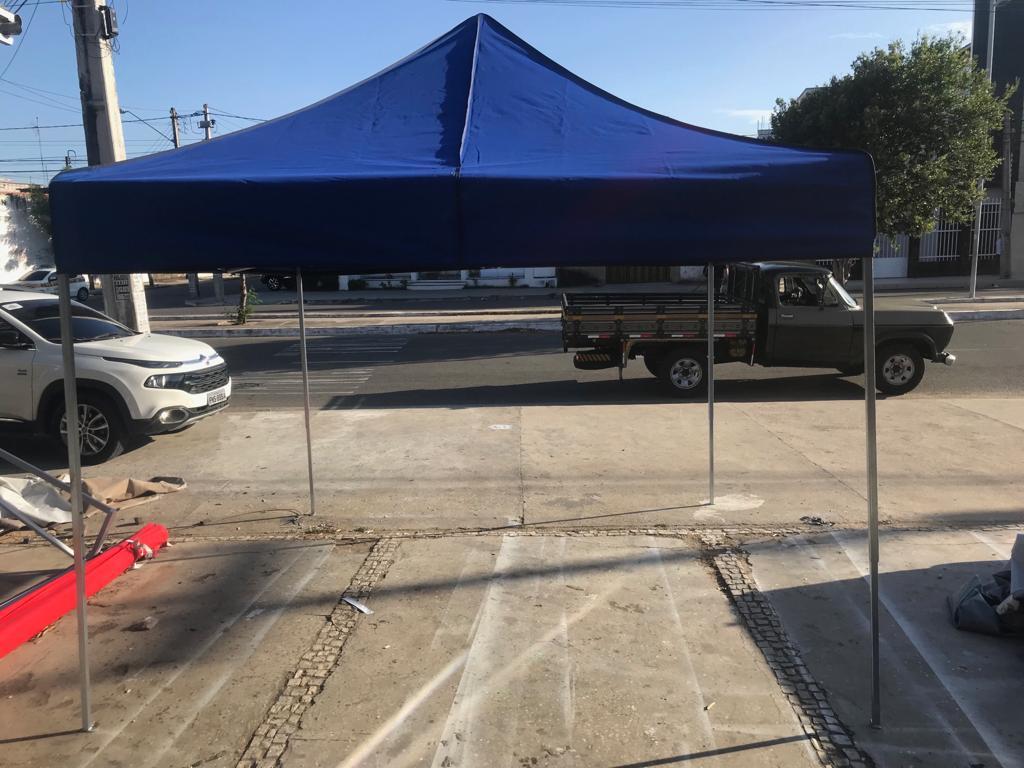 tenda sanfonada em fortaleza