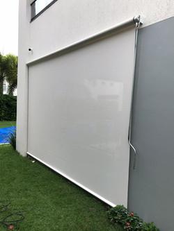 toldo vertical tela solar