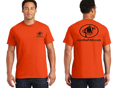 Official FAN Action Nation T-shirt (Orange)