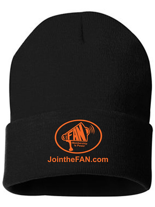 Official FAN Action Nation Beanies (Black or Orange)