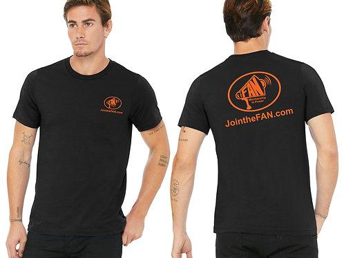Official FAN Action Nation T-shirt (Black)
