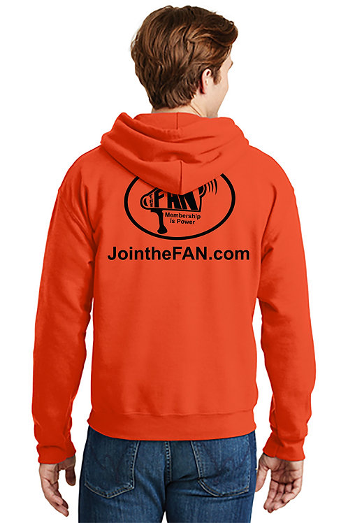 Official FAN Action Nation Hoodie (Orange)