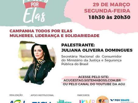 Evento imperdível com a WIA Juliana Domingues