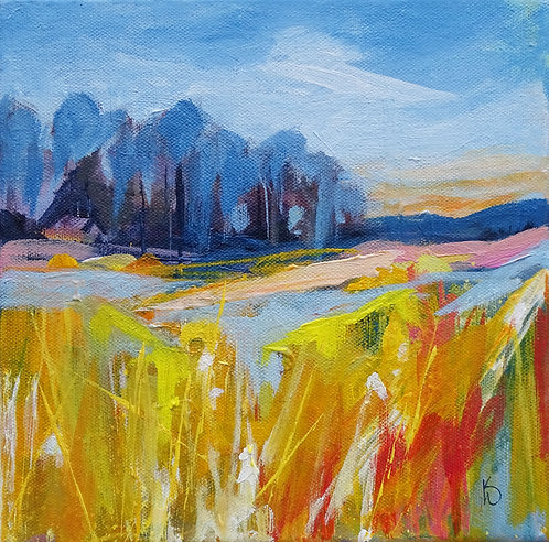 LANDSCAPE WITH TREES ll