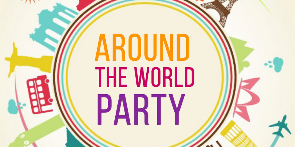 Sierra and Andrea's Around the World Party