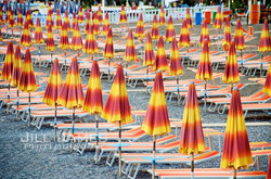 Umbrellas On The Beach - Positano, Italy