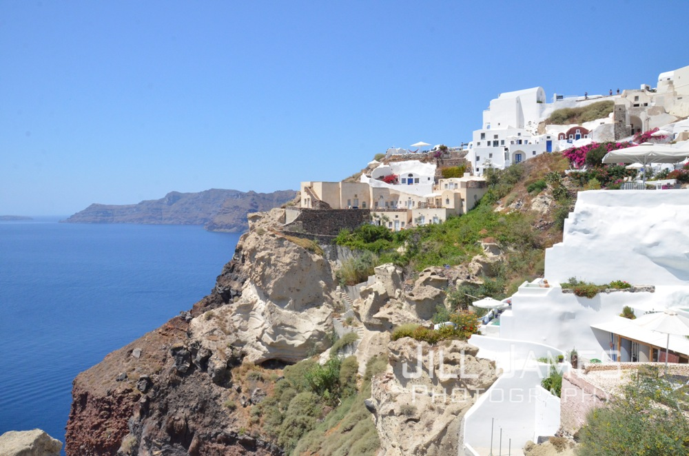 Cliffside Of Oia - Santorini, Greece