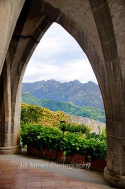 Mountains Thru The Arches (V)