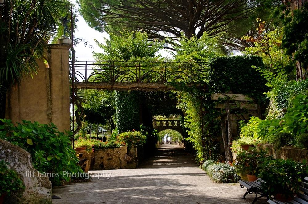 The Lush Walkway - Ravello, Italy