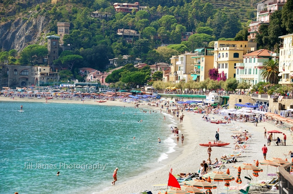 The Beach At Cinque Terre