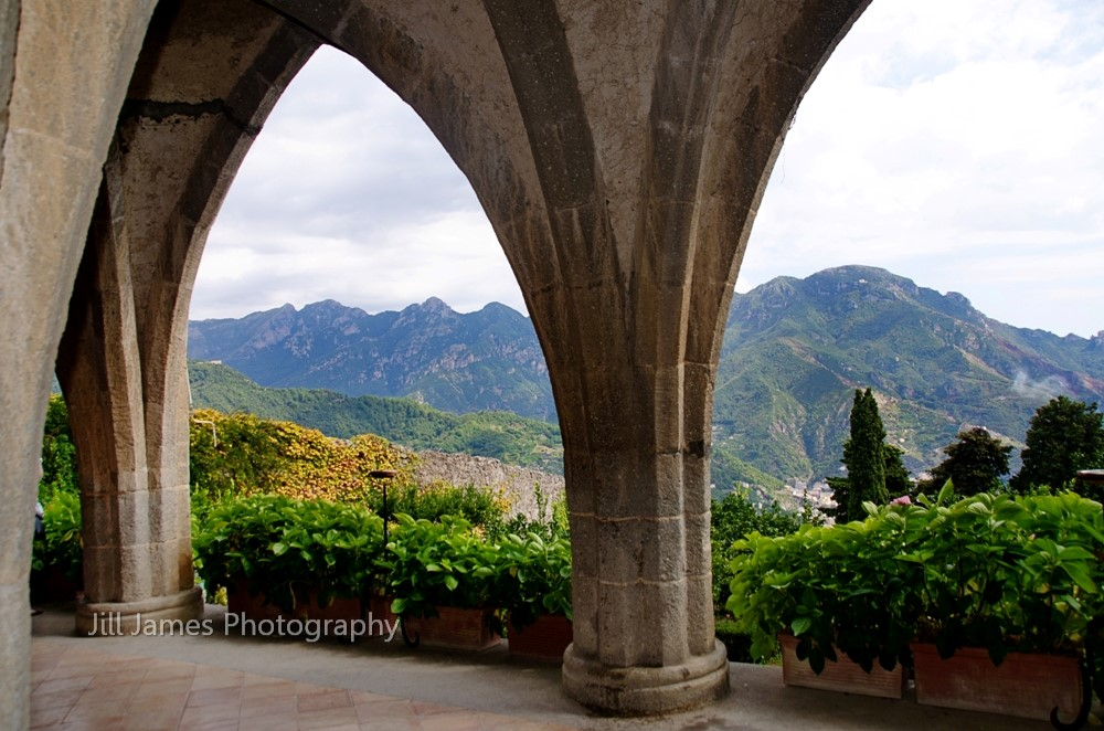 Mountains Thru The Arches (H)