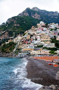 The Shoreline Of Positano - Amalfi Coast