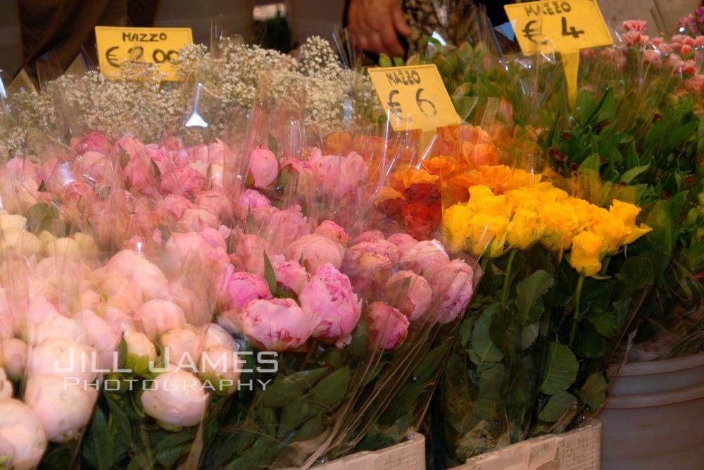 Italian Flower Market