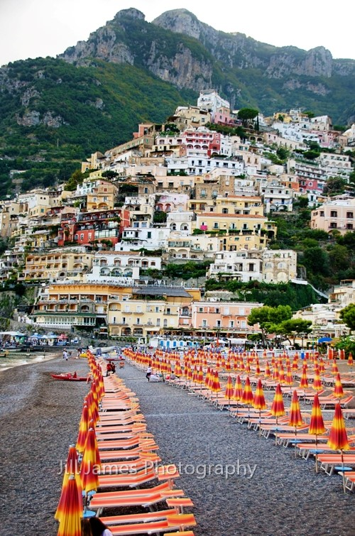 The Beach At Positano - Amalfi Coast