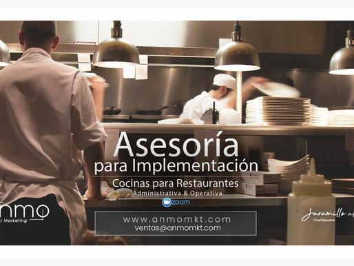 Asesoría para Implementar o Renovar l Cocinas para Restaurantes
