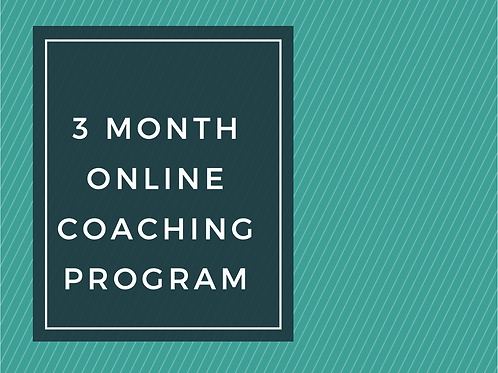 3-Month Online Coaching
