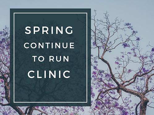 Spring Continue to Run